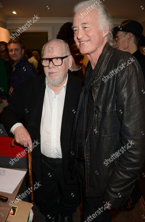 Sir Peter Blake and Jimmy Page