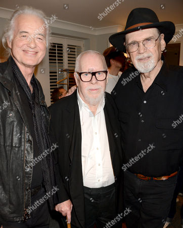 Jimmy Page, Sir Peter Blake and Duane Eddy