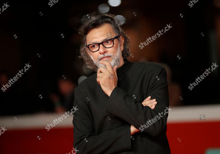 """Stock Photo of Director Rakeysh Omprakash Mehra poses during the red carpet of the movie """"My Dear Prime Minister"""", at the 13th edition of the Rome Film Fest, in Rome"""