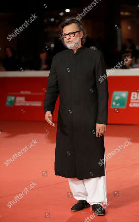 """Director Rakeysh Omprakash Mehra poses during the red carpet of the movie """"My Dear Prime Minister"""", at the 13th edition of the Rome Film Fest, in Rome"""