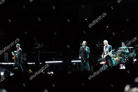 U2 - Bono, The Edge, Adam Clayton, Larry Mullen Jr