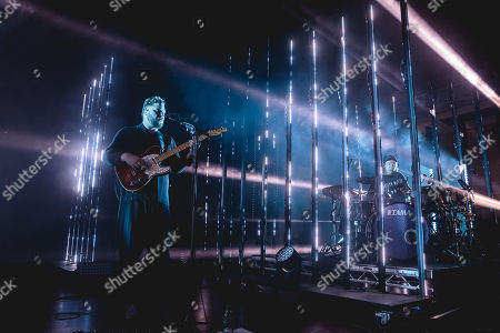 Editorial image of Alt-J in concert at Leeds Town Hall, UK - 23 Oct 2018