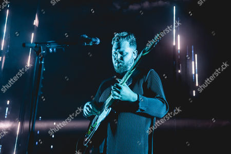 Editorial picture of Alt-J in concert at Leeds Town Hall, UK - 23 Oct 2018