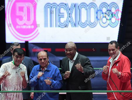 Editorial image of 50th anniversary of the Mexico 1968 Olympic Games, Mexico City - 23 Oct 2018