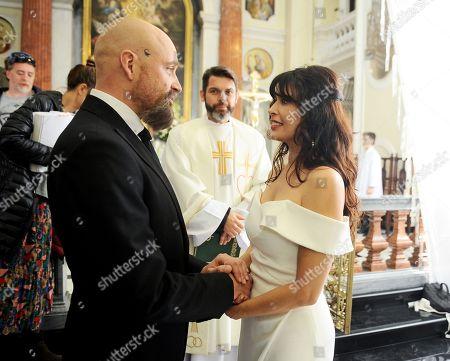 Angie Cepeda and Patryk Vega