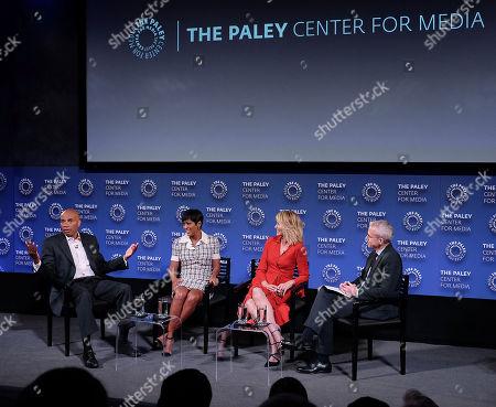 Tony Harris, Tamron Hall, Paula Zahn and Jess Cagle