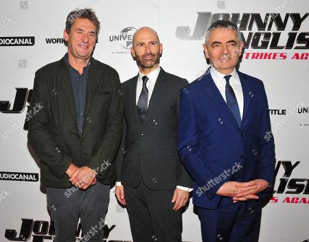 Tim Bevan, David Kerr, Rowan Atkinson