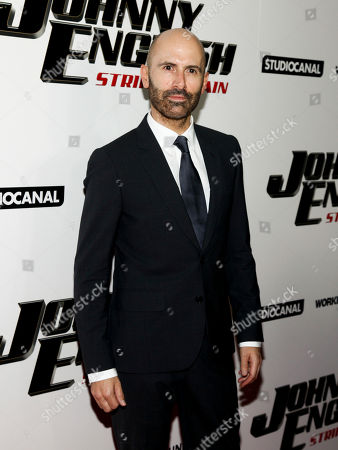 "David Kerr attends a special screening of ""Johnny English Strikes Again"" at AMC Loews Lincoln Square, in New York"