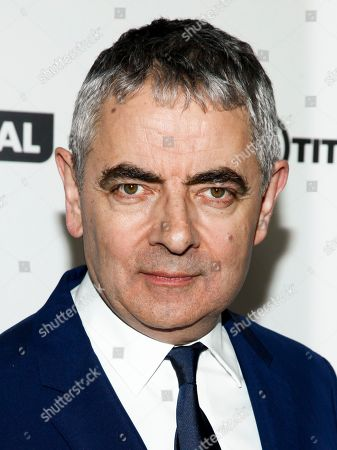 """Rowan Atkinson attends a special screening of """"Johnny English Strikes Again"""" at AMC Loews Lincoln Square, in New York"""