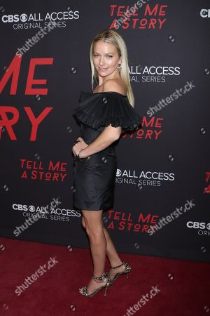 Editorial image of 'Tell Me A Story' TV show premiere, New York, USA - 23 Oct 2018