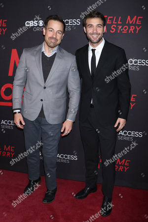 Kurt Yaeger and James Wolk