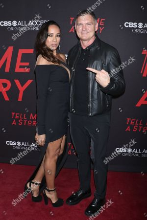Dania Ramirez and Kevin Williamson, Creator and executive producer