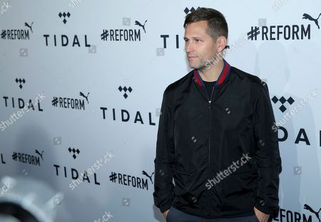 DJ Kaskade arrives at the fourth annual TIDAL X: Brooklyn at Barclays Center, in New York