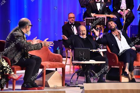 Editorial image of 'Maurizio Costanzo' TV Show, Rome, Italy - 24 Oct 2018