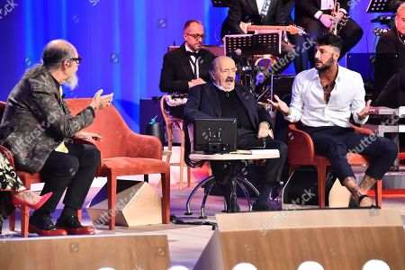 Editorial picture of 'Maurizio Costanzo' TV Show, Rome, Italy - 24 Oct 2018