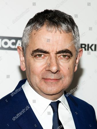 "Rowan Atkinson attends a special screening of ""Johnny English Strikes Again"" at AMC Loews Lincoln Square, in New York"
