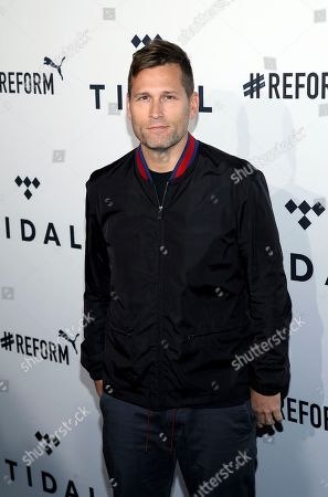 DJ Kaskade arrives at the fourth annual TIDAL X: Brooklyn at Barclays Center, in the Brooklyn borough of New York