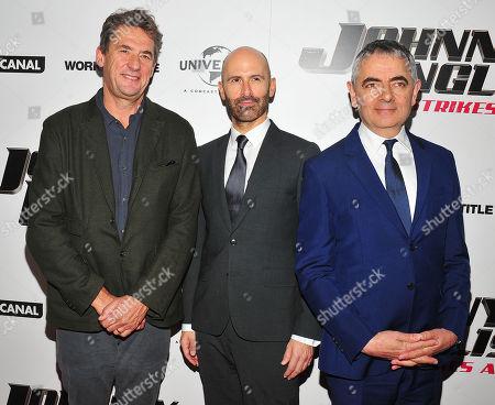 Editorial photo of 'Johnny English Strikes Again' film screening, New York, USA - 23 Oct 2018