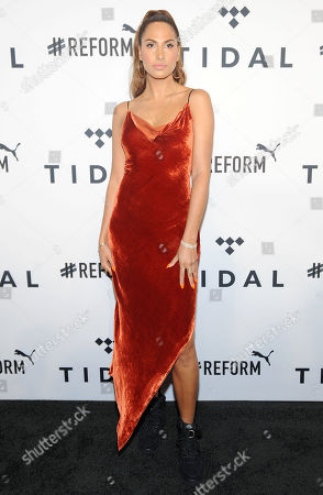 Editorial picture of Fourth annual TIDAL X: Brooklyn benefit concert, arrivals, New York, USA - 23 Oct 2018
