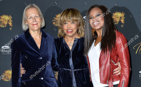 Phyllida Lloyd, Tina Turner and Kristina Love