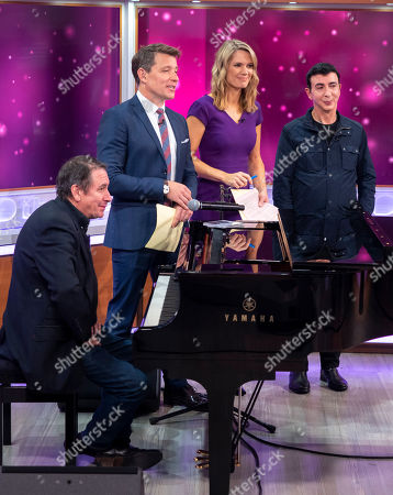 Jools Holland, Ben Shephard, Charlotte Hawkins and Marc Almond