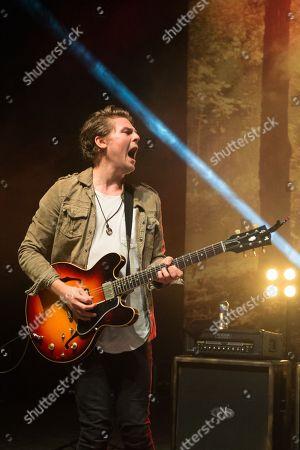 Editorial image of Lawson performing at O2 Shepherds Bush Empire, London, UK - 23 Oct 2018