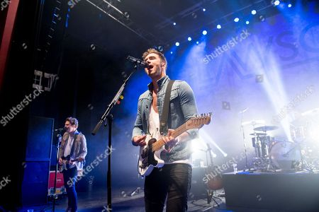 Editorial picture of Lawson performing at O2 Shepherds Bush Empire, London, UK - 23 Oct 2018