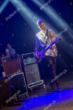Editorial photo of Lawson performing at O2 Shepherds Bush Empire, London, UK - 23 Oct 2018
