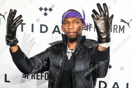 Editorial photo of Fourth annual TIDAL X: Brooklyn benefit concert, Arrivals, New York, USA - 23 Oct 2018