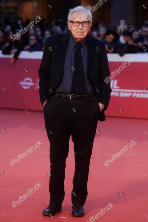 Director Paolo Taviani poses for photographers as He arrives on the red carpet at the 13th edition of the Rome Film Fest, in Rome