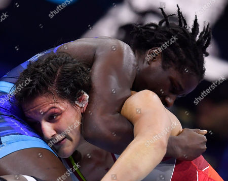 Editorial photo of Wrestling World Championships in Budapest, Hungary - 24 Oct 2018