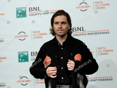 "Actor Sverrir Gudnason, poses during the photo call of the movie ""The Girl in the Spider's Web"", at the 13th edition of the Rome Film Fest"