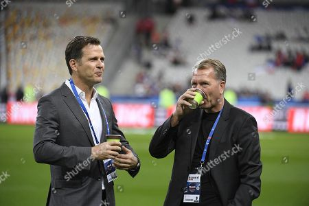 Oliver Bierhoff and Andreas Koepke.