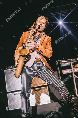 Editorial picture of Spandau Ballet in concert at Fabrique, Milan, Italy - 23 Oct 2018