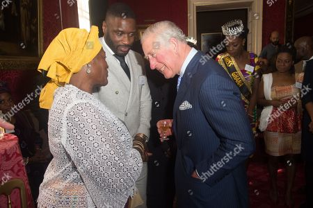 Editorial image of Gambia, Ghana and Nigeria reception, St James Palace, London, UK - 24 Oct 2018