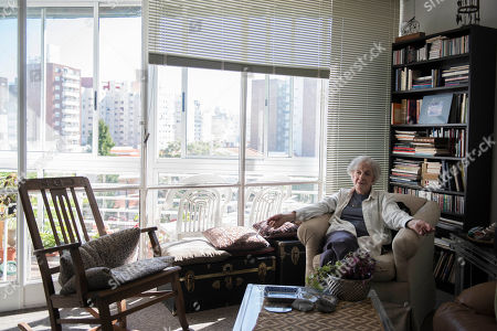 Editorial picture of Poet, Montevideo, Uruguay - 16 Oct 2018