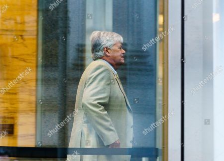 Stock Photo of Former New York state Senate Majority Leader Dean Skelos arrives for a sentencing hearing on public corruption charges at the Manhattan federal court house in New York, New York, USA, 24 October 2018. Skelos was sentenced to four years and three months in prison after being convicted in July on federal corruption charges which included soliciting bribes and defrauding the public.