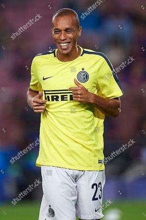 Joao Miranda of Inter Milan