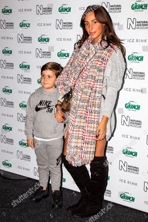 Amber Dowding and nephew