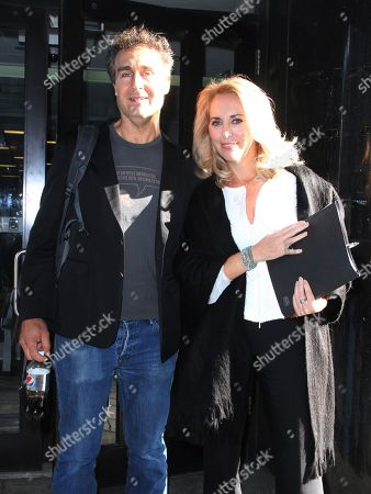 Stock Photo of Doug Liman and Valerie Plame
