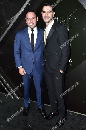 Scooter Braun and Adam Braun