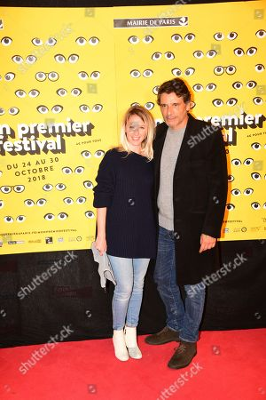 Stock Photo of Pascal Elbe, Ludivine Sagnier