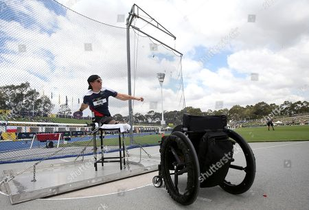 Ryan Pinney. Tim Payne of the U.S.A. makes a throw during the men's discus IF6 event during the athletics competition at the Invictus Games in Sydney, . Payne won the gold medal