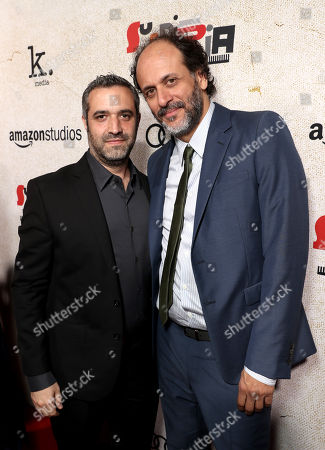 Stock Photo of Brad Fischer and Luca Guadagnino