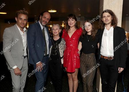 Jesse Johnson, Luca Guadignino, Tippi Hedren, Dakota Johnson and guests