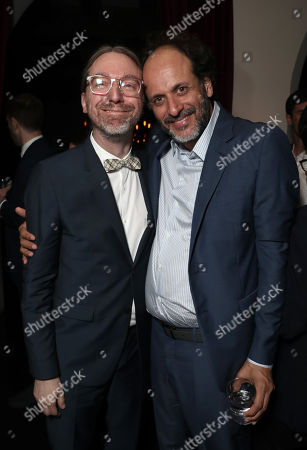 David Kajganich and Luca Guadagnino