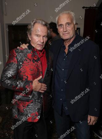 John Savage and Joe Cortese