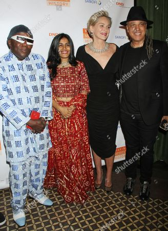 Foday Musa Suso, Falu Shah, Sharon Stone, Mino Cinelu