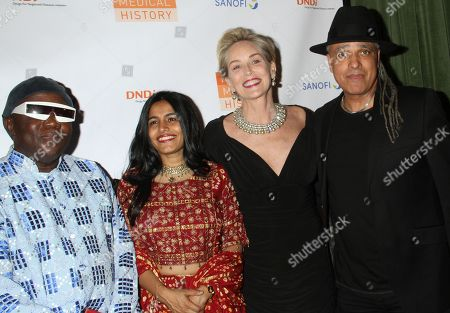 Editorial picture of Drugs for Neglected Diseases Initiative gala, Arrivals, New York, USA - 24 Oct 2018
