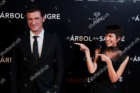 Julio Medem and Ursula Corbero